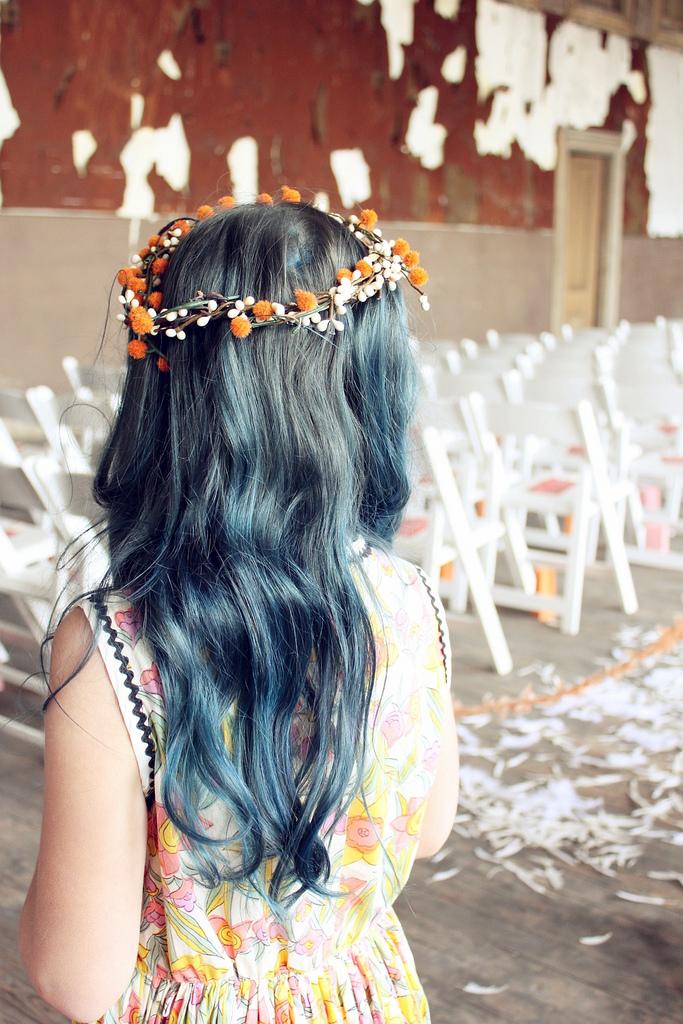 Hope's Pretty Blue Hair
