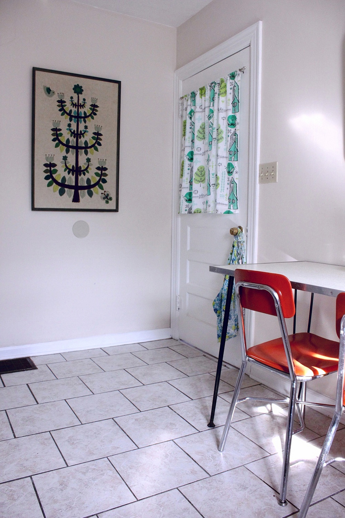 Kitchen and Entrance to Studio