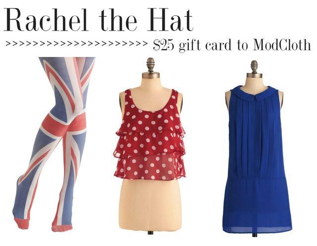 Rachelthehat