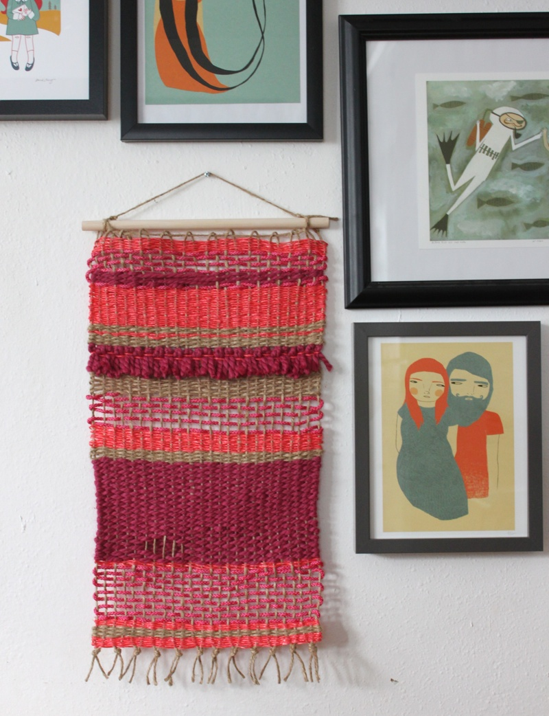 40 Projects Just For Fun Wall Hanging Smile And Wave
