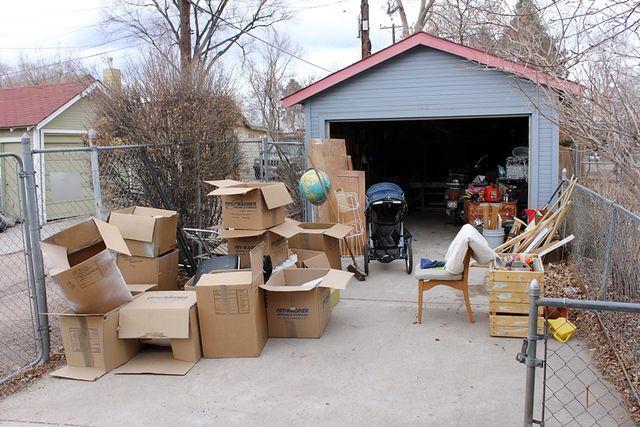 Garage leftovers