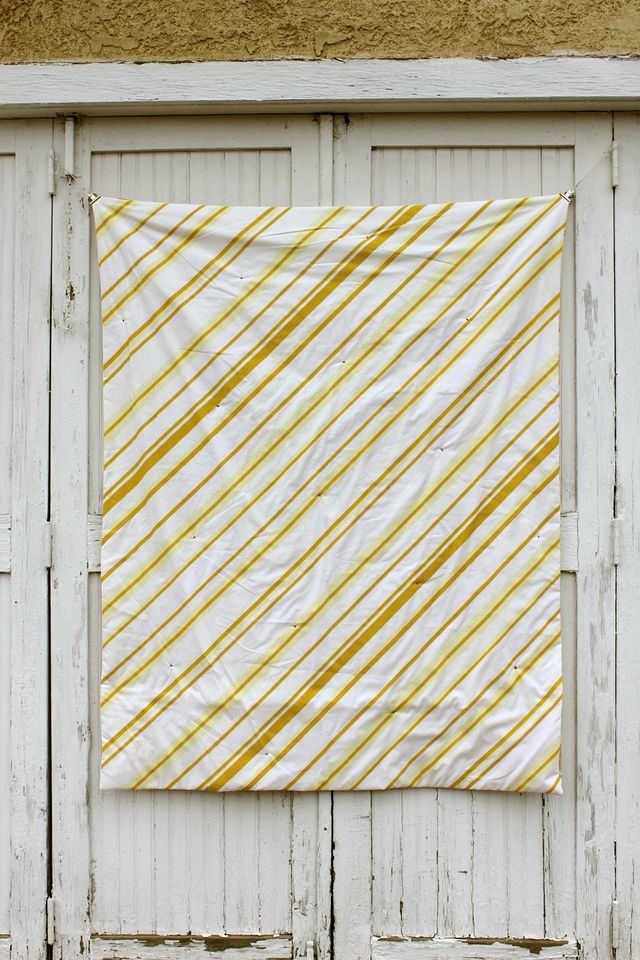 Back of Quilt-Hand Tied