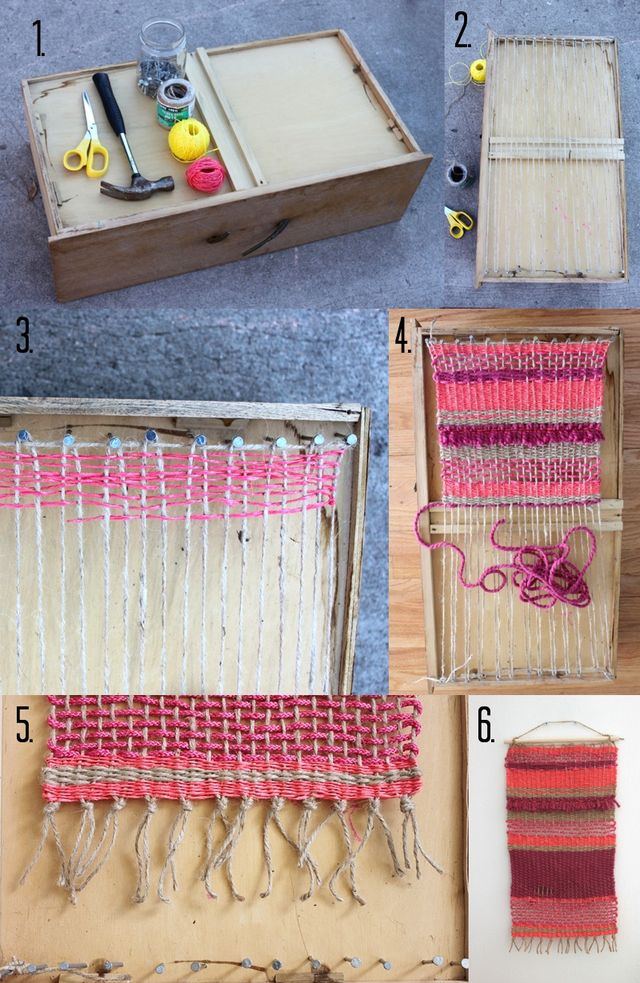 DIY Wall Hanging Steps