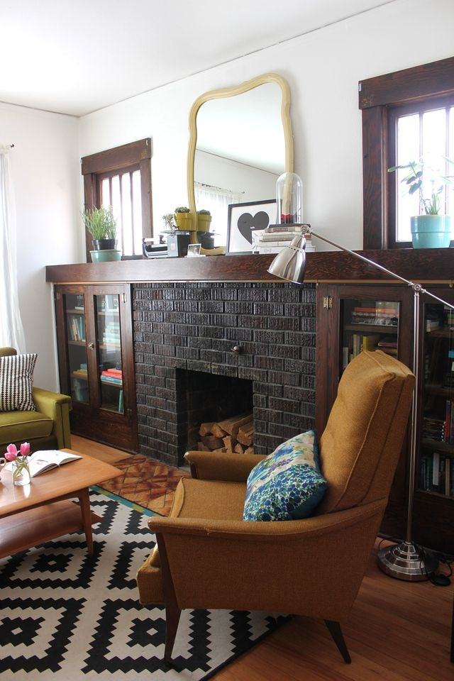 Living Room - Fire Place Side