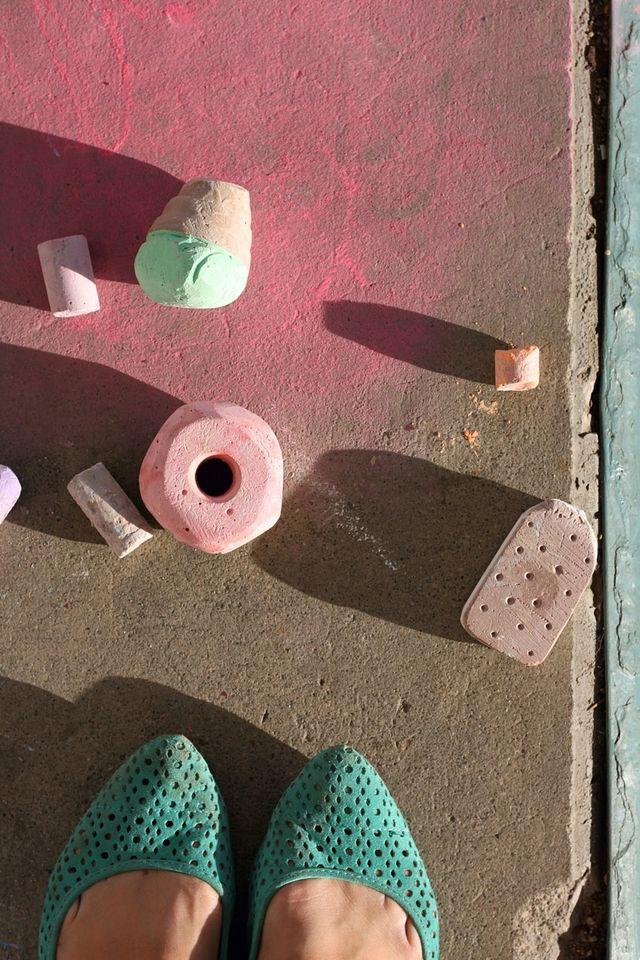 Donut Sidewalk Chalk