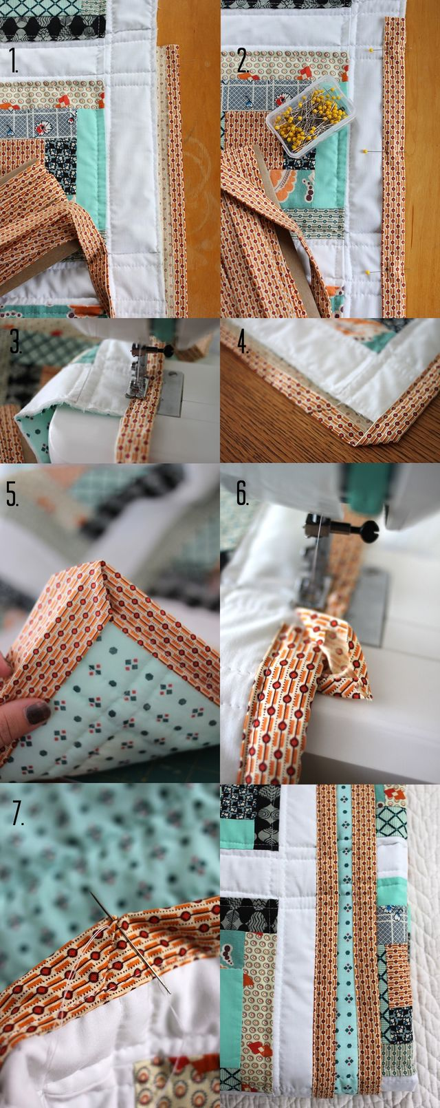 How To Attach Your Binding