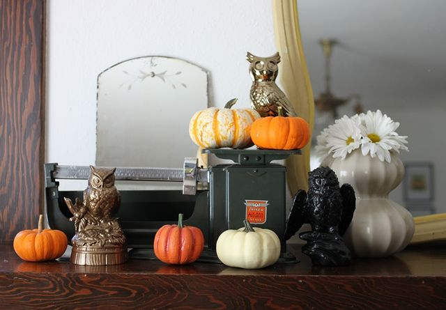 Owls and Pumpkins for Halloween