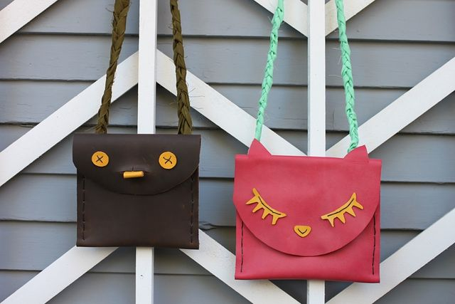 Leather Kids' Pouches