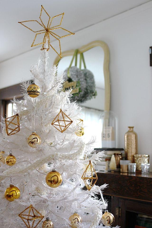 White Himmeli Tree
