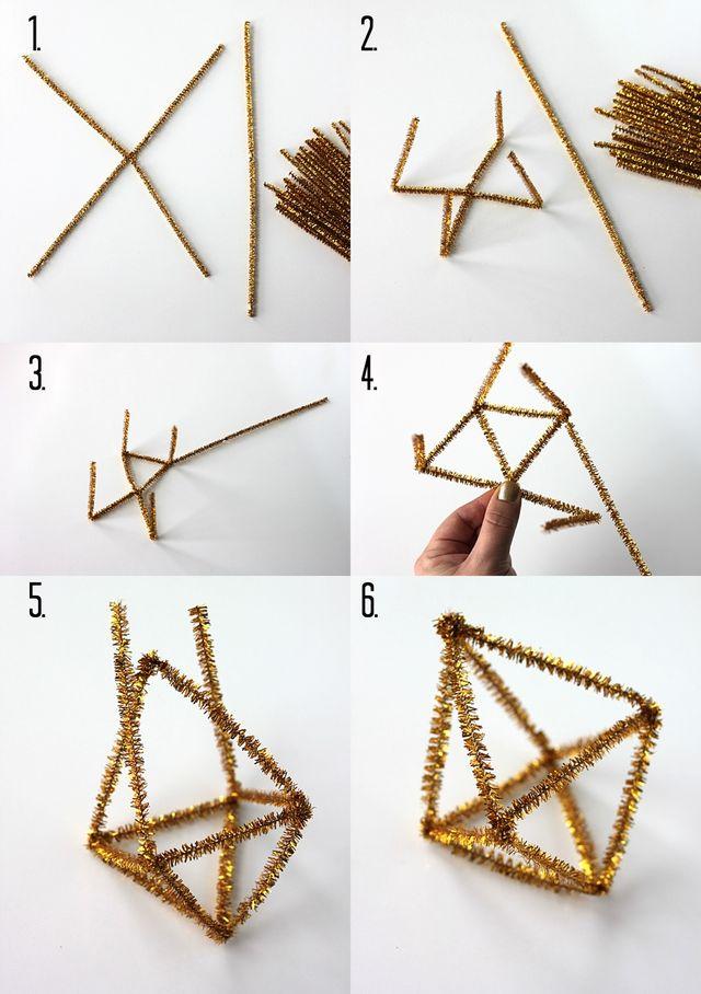 Himmeli Ornament Steps