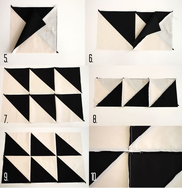 Abstract Baby Quilt Steps 2
