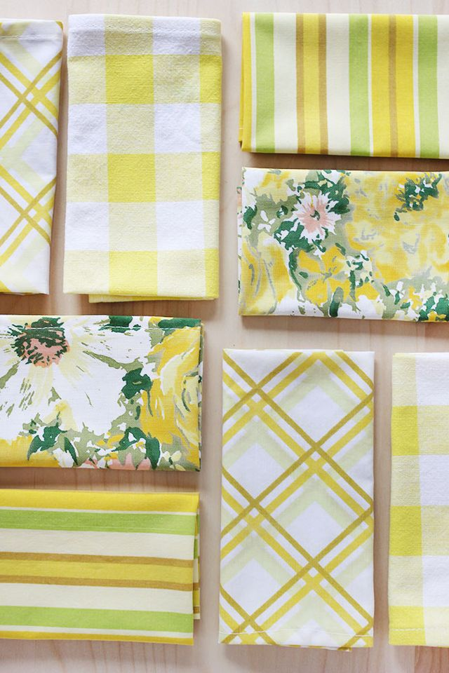 Cloth Napkins and Placemats