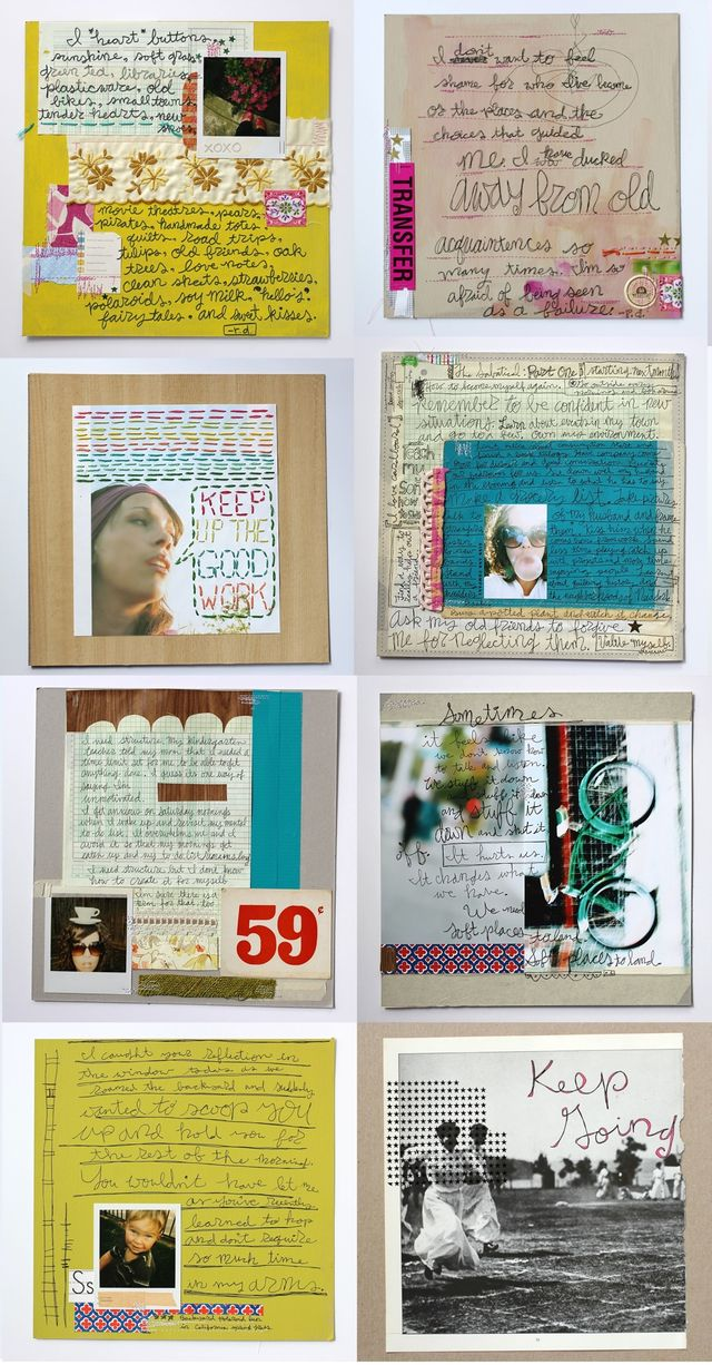 Rachel Denbow's Art Journals 2007