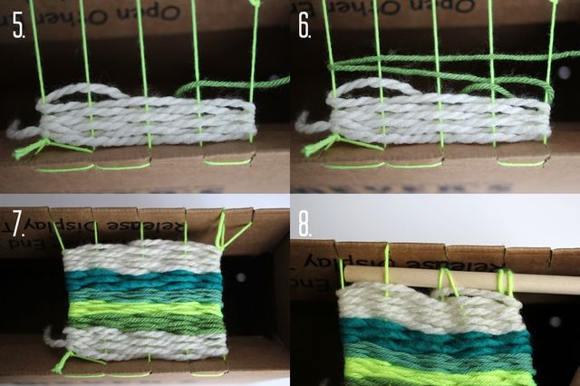 Weaving Steps 2