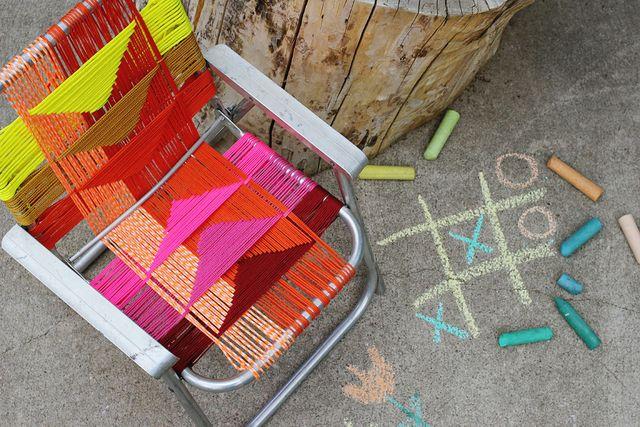 Woven Chair Tutorial