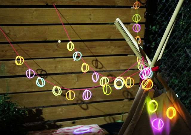 Glow-In-The-Dark String Lights DIY