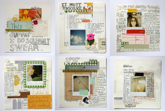 Rachel Denbow's Summer 2009 Art Journal