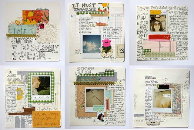 Rachel Denbow's Summer 2009 Art Journal