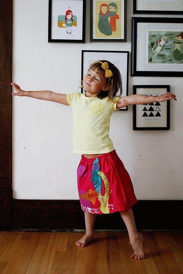 Ruby's Skirt