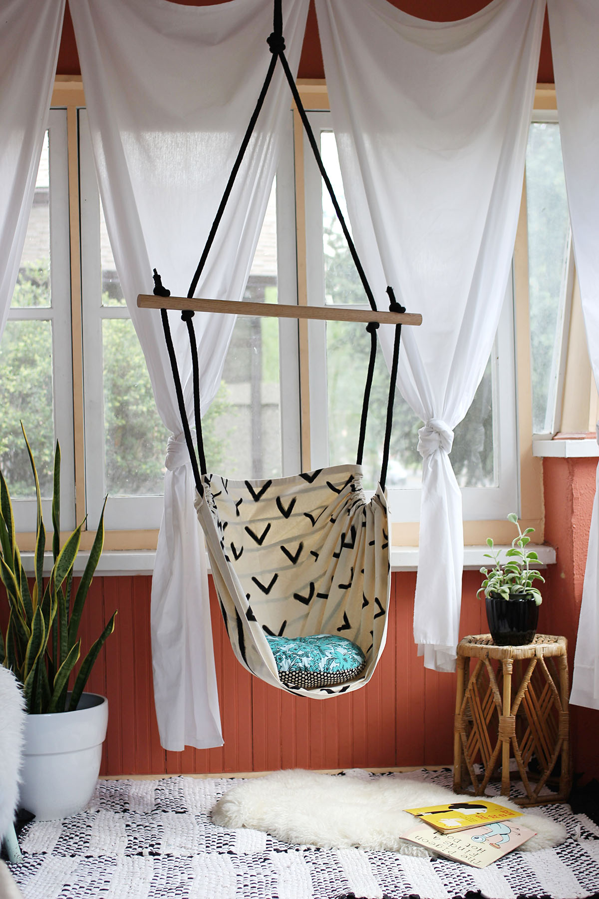 Hammock Chair DIY for ABM Smile And Wave