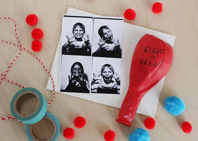 Photo Booth Birthday Invites