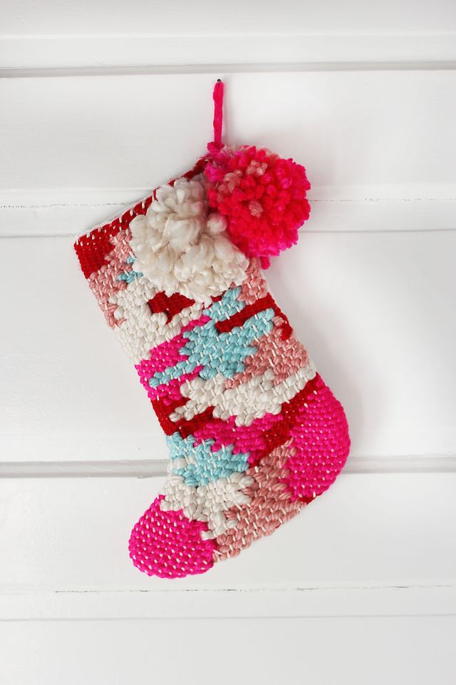 Woven Stocking DIY