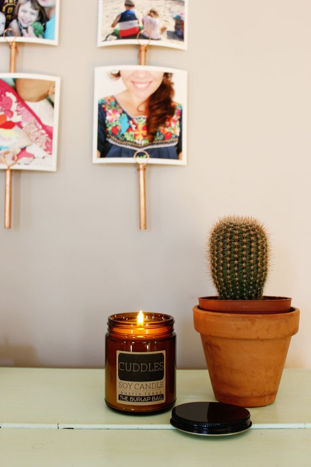 The Burlap Bag Soy Candles