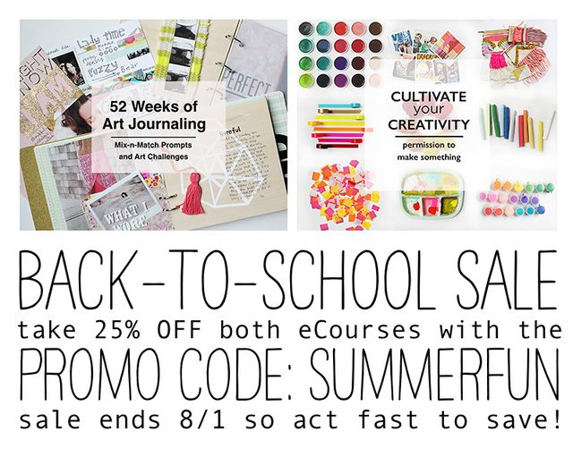 SummerBackToSchooleCourseSale