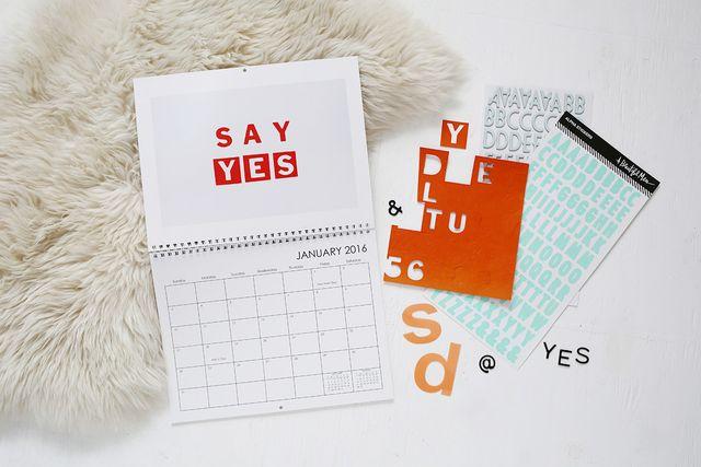 Calendar DIY with Snapfish by Rachel Denbow