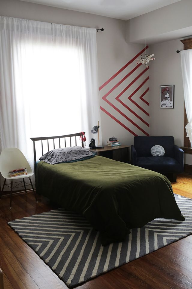 Sebastian's slightly Star Wars themed bedroom makeover