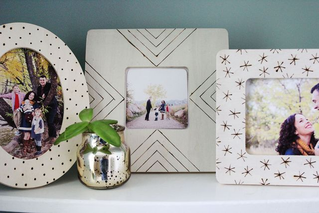 Customize inexpensive frames with this easy tutorial