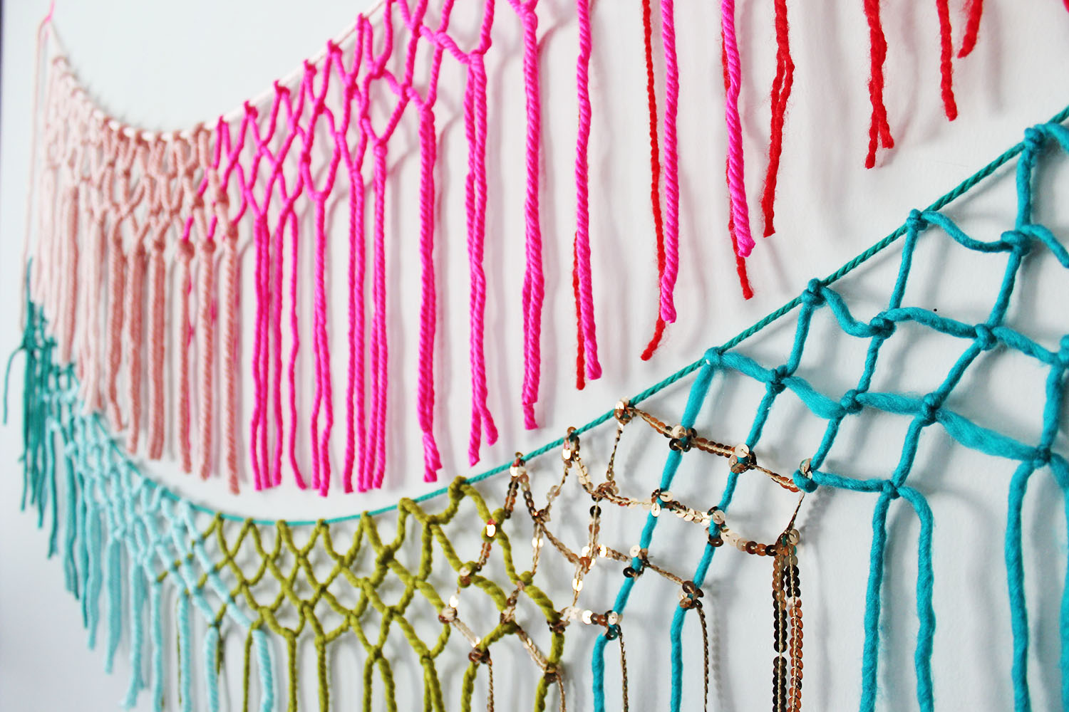 Macrame garlands for your next party