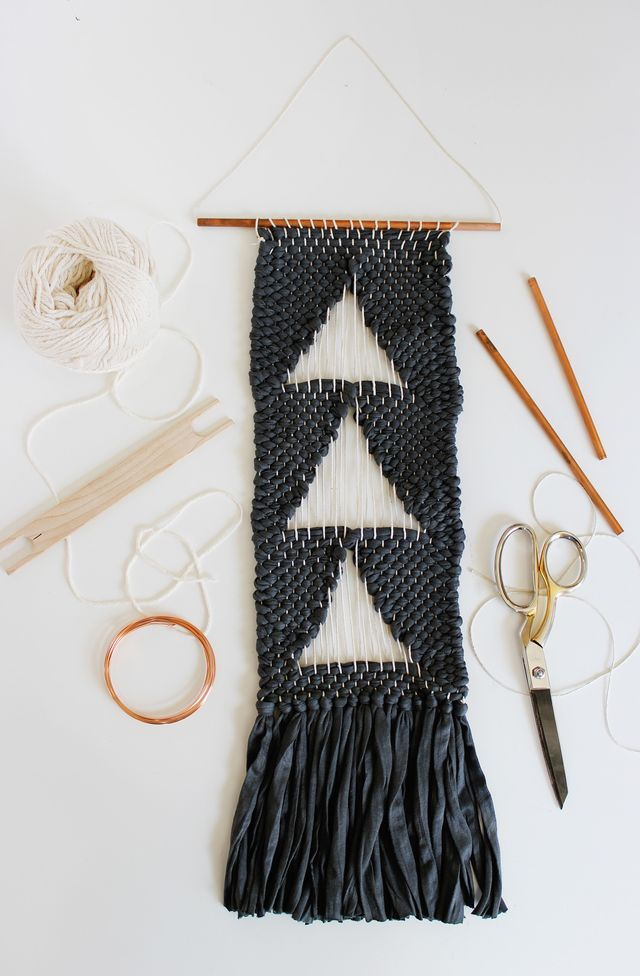 Simple Negative Space Weaving