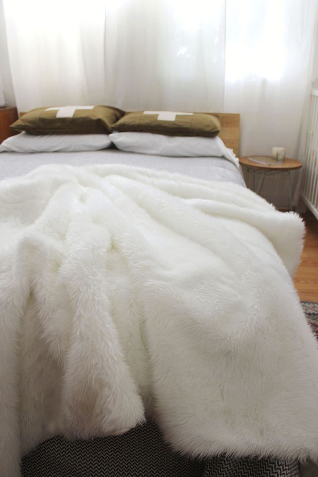 Faux Fur Throw 1