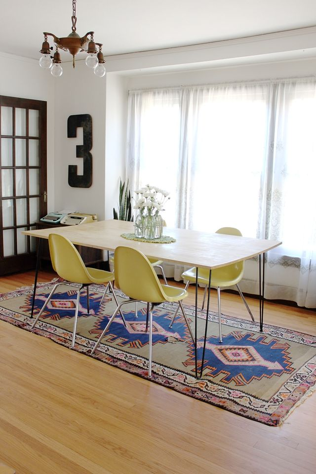 10 tips to add personality to a rental a beautiful mess - Rent dining room table ...