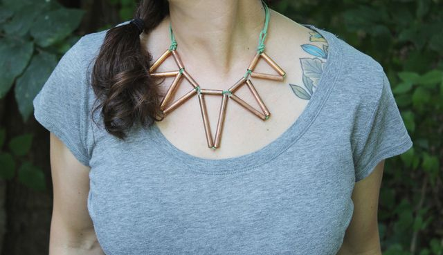 Copper Power Necklace