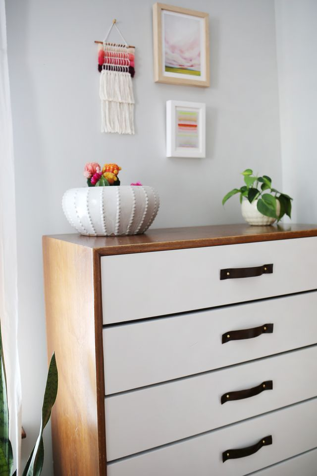 Dresser Facelift with Glidden Paint