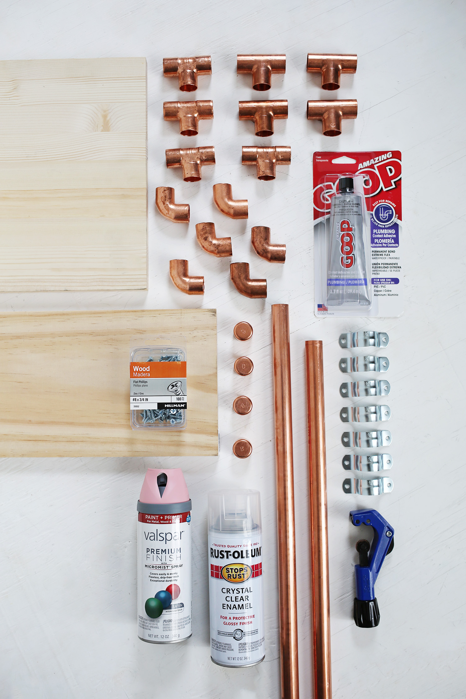 Copper Desk Supplies
