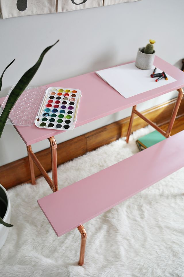 Children's Copper Desk DIY