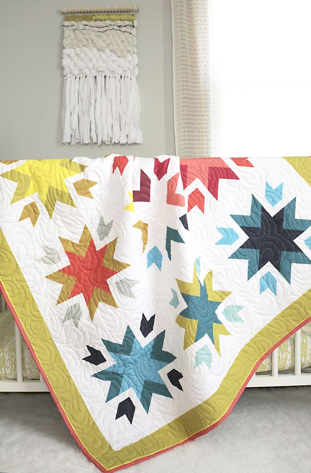ShopStitched Kickstarter features tools to design your own quilt! Get the details on SmileandWaveDIY.com
