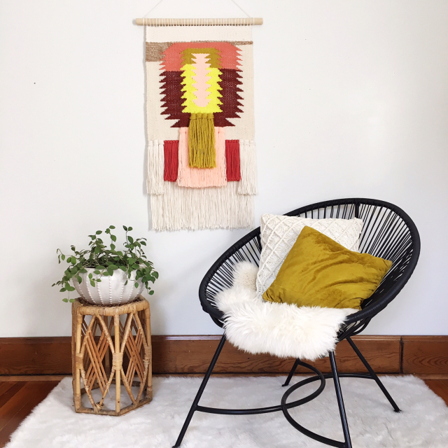Weaving Woven Wall Hanging by Rachel Denbow 1