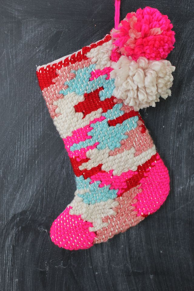 Woven Stocking Tutorial