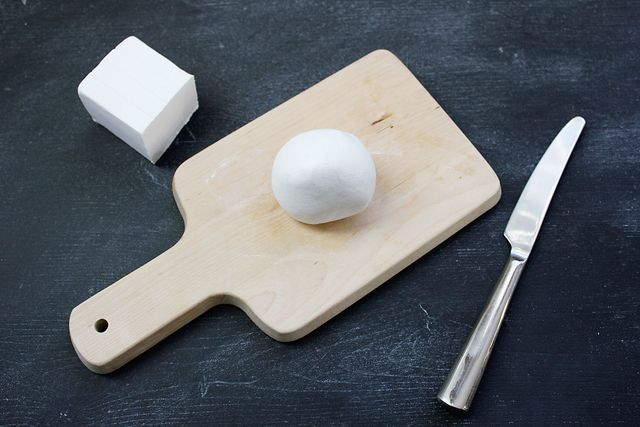 Soften your clay into a ball