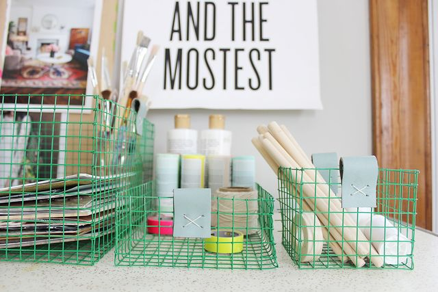 Customized wire basket DIY