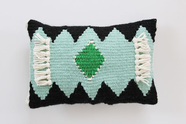 Finished Woven Pillow