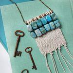 Woven Necklace DIY