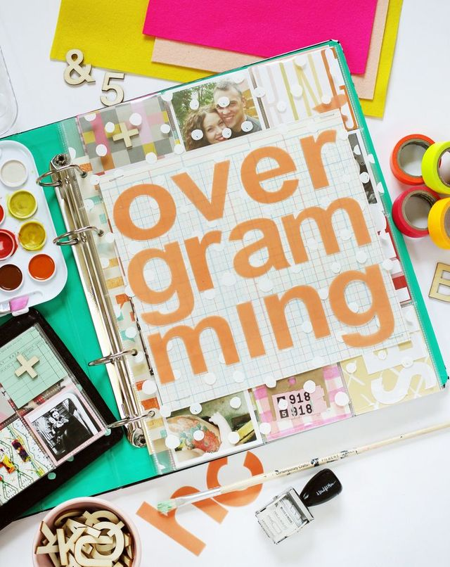 Overgramming eCourse by Smile and Wave for A Beautiful Mess.