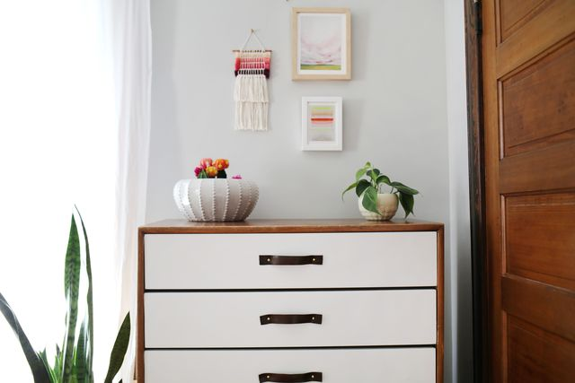 Glidden Paint Dresser Makeover