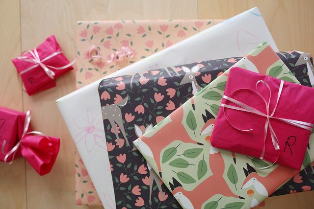 Gingiber Wrapping Paper