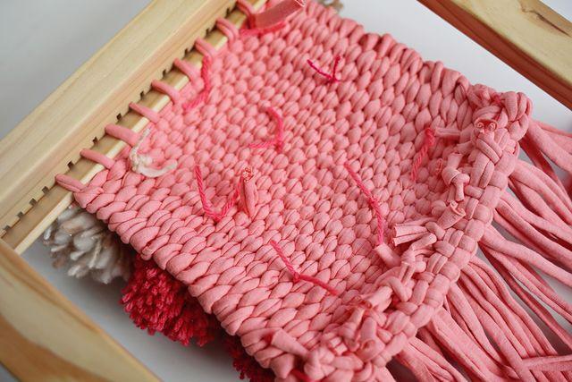 Back of Pom Weaving